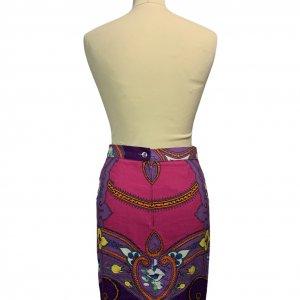 חצאית מעטפת סגולה עיטורים 2