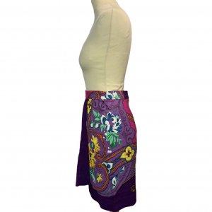 חצאית מעטפת סגולה עיטורים 3