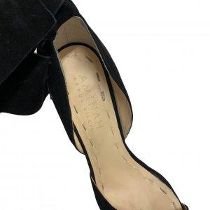 נעלי עקב שחורות עם פפיון 8