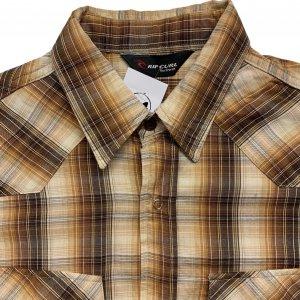 חולצה מכופתרת משובצת עם שרוול ארוך 3
