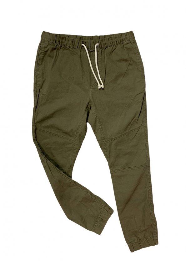 מכנס גברים ירוק זית 1