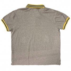 חולצה פולו אפורה וינטג׳ - Diadora 2