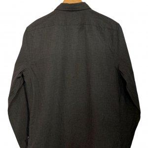 חולצה מכופתרת אפור כהה 2
