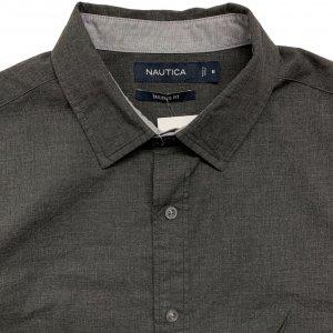 חולצה מכופתרת אפור כהה 3