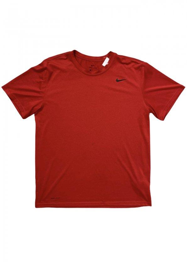 טי שירט דריי פיט אדומה עם סמל נייק קטן 1
