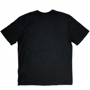 חולצת טריקו שחורה עם כיתוב ירוק - Nike 2