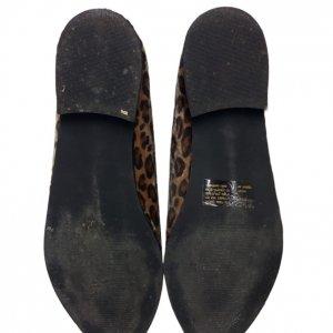 נעלי אוקספורד בדוגמת נמר עם רוכסן 5
