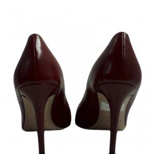 נעלי עקב שפיץ בורדו 3