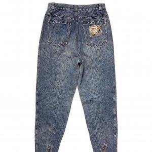 ג׳ינס baggy וינטג׳ עם רוכסנים בקרסוליים 2