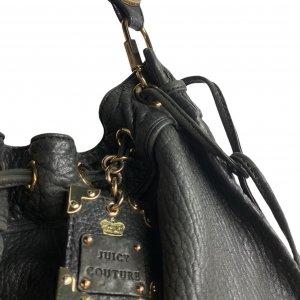 תיק גדול מעור חום כהה - Juicy Couture 4