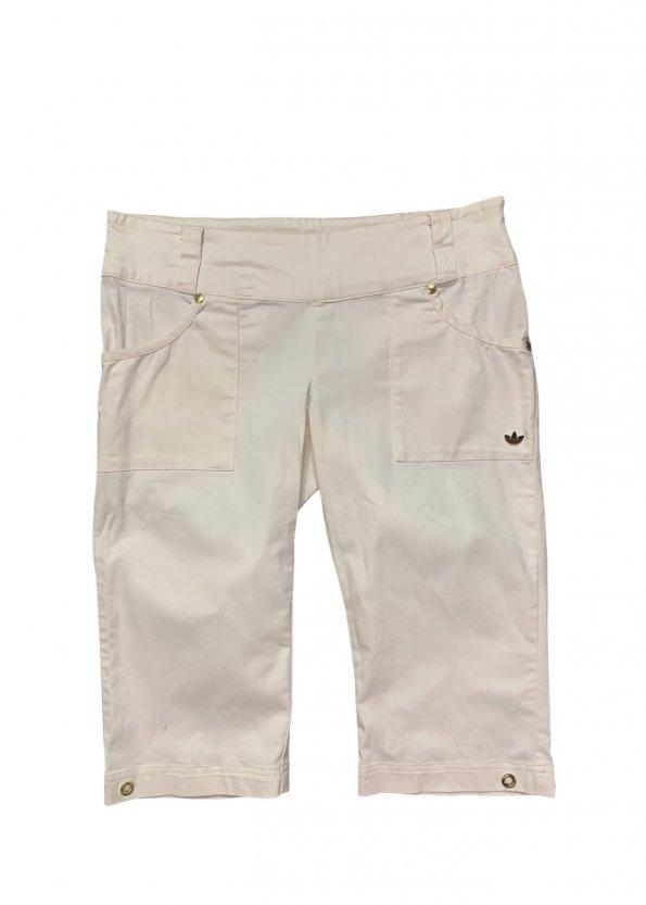 מכנסי ברמודה לבנים עם כיסים מבית ADIDAS 1