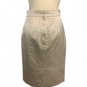 חצאית עיפרון בצבע פנינה 2