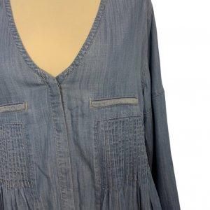 חולצה מכופתרת ג׳ינס 5