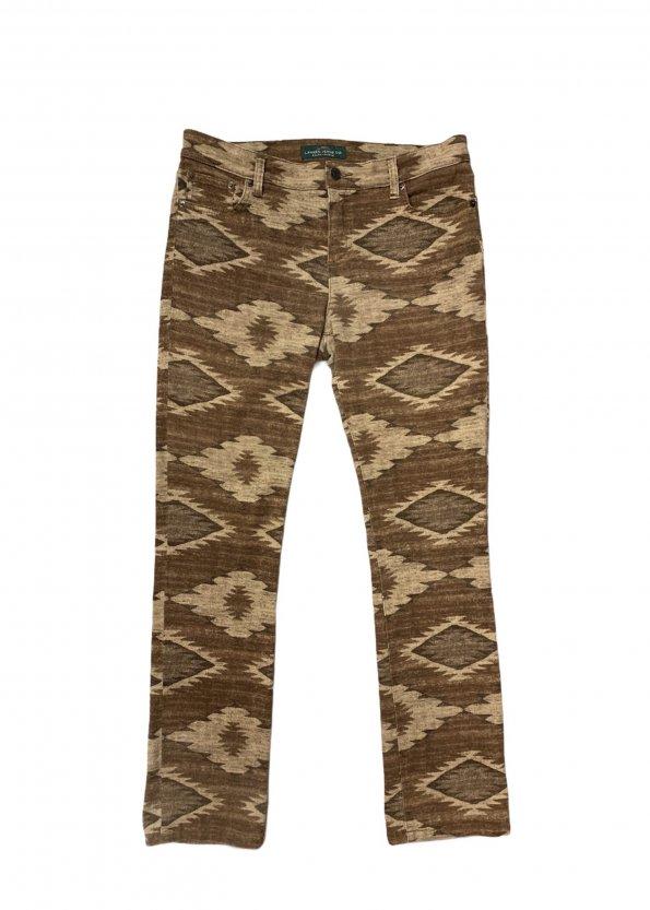 מכנסיים חומים אתניים מבית Ralph Lauren 1