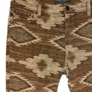 מכנסיים חומים אתניים מבית Ralph Lauren 3