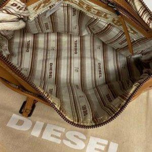 תיק עור חום - Diesel 4