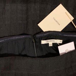 אוברול סטרפלס שחור ארוך עם חגורה שחורה של TULAROSA 4