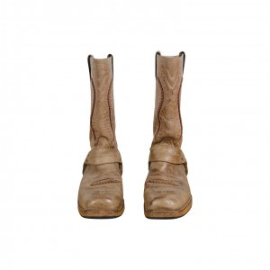 מגפיי בוקרים עור בז' - Sancho Abarca Boots 2