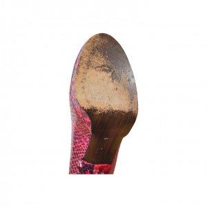 נעלי עקב נחש אדומות - STUART WEITZMAN 5