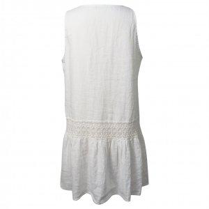 שמלת פשתן לבנה ARMANI 2