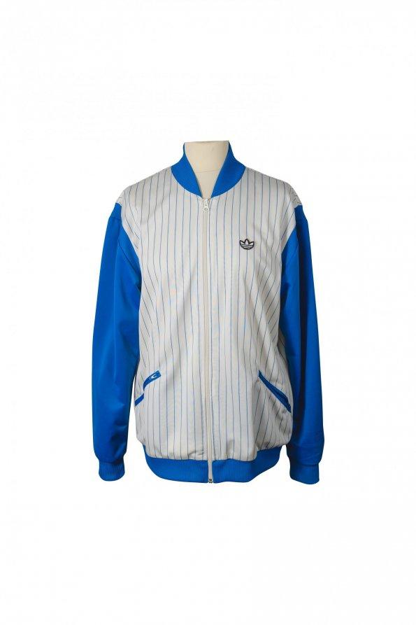 ג׳קט ספורט כחול לבן - Adidas 1