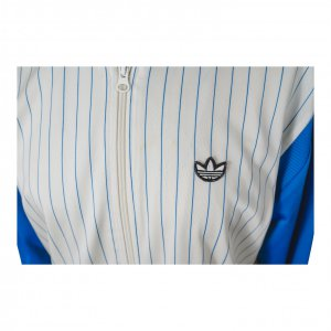 ג׳קט ספורט כחול לבן - Adidas 3