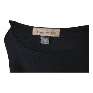 חולצה קצרה שחורה - ELIANE STOLERU 3