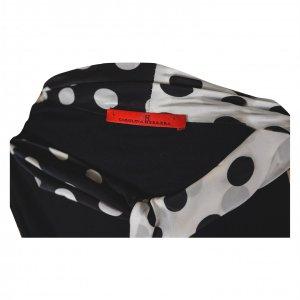 חולצת טריקו שחורה עם שרוולים ארוכים של CAROLINA HERRERA 3