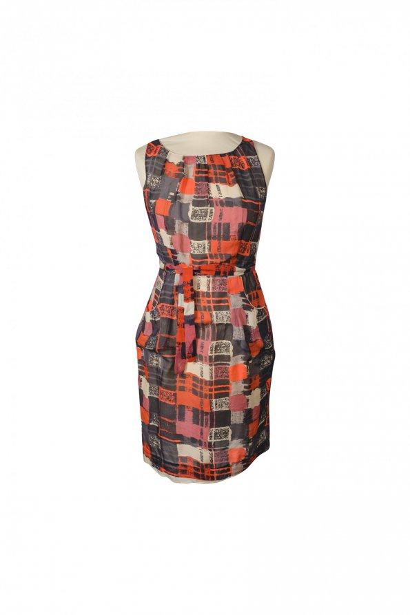 שמלת משי מבית - DKNY 1