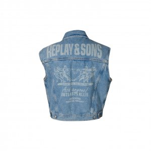 ווסט ג'ינס הדפס מאחורה - Replay 3
