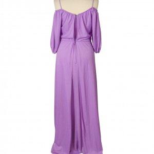 שמלת מקסי סגולה וינטג' 2