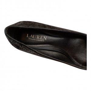 עקב קטיפה שחור נמוך - Ralph Lauren 3
