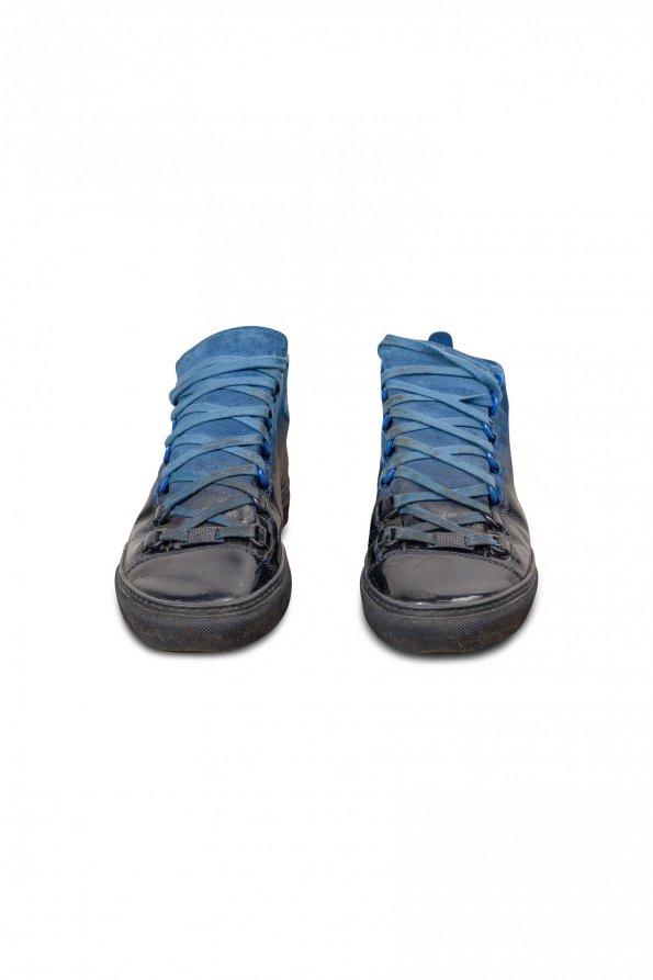 סניקרס כחול שחור balenciaga 1