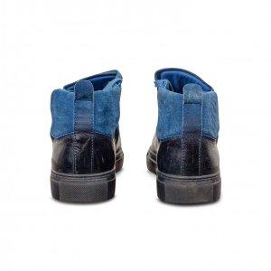 סניקרס כחול שחור balenciaga 3