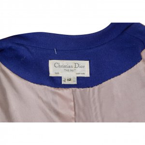בלייזר מחויט כחול - Chrisian Dior 3