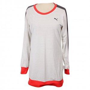 שמלה שחורה רשת עם פס אדום - Puma 3