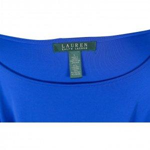 שמלת 3/4 כחול רויאל עם חגורה - Ralph Lauren 3
