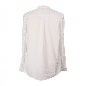 חולצה לבנה תחרה מכופתרת - French Connection 2