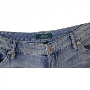 מכנסי ג׳ינס בהירים עם טלאים מ Ralph Lauren 2