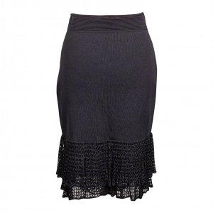 חצאית סריג שחורה - Carolina Herrera 2