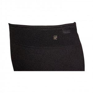 חצאית סריג שחורה - Carolina Herrera 4