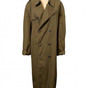 מעיל טרנץ ירוק זית 2