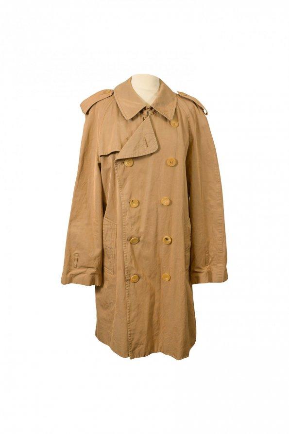מעיל וינטג׳ טרנץ שמנת - GUCCI 1