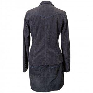 חצאית קורדרוי אפור - NAF-NAF 4