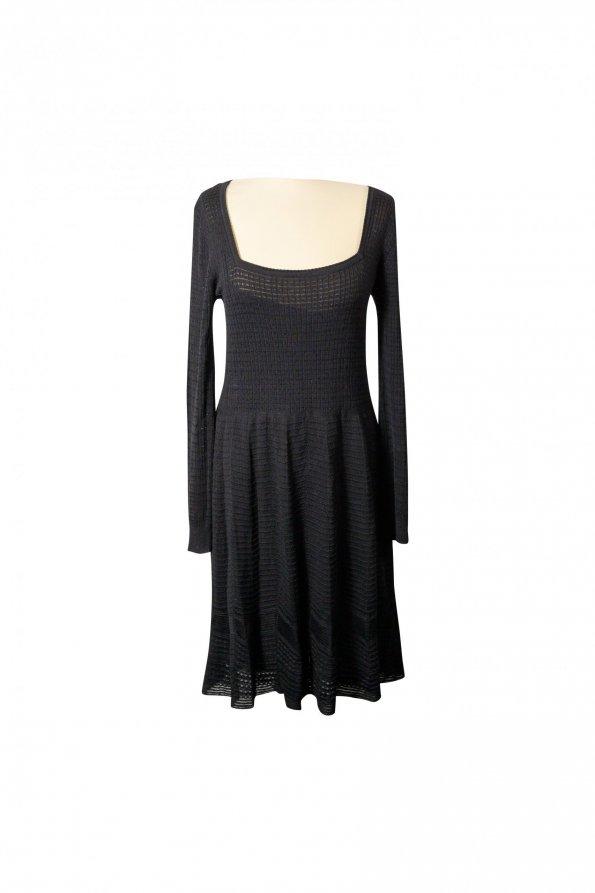 שמלה שחורה סריג - Missoni 1