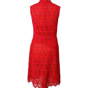 שמלת תחרה אדומה - Valentino 2
