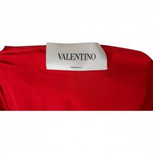 שמלת תחרה אדומה - Valentino 3