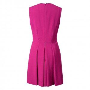 שמלה מחוייטת ורוד פוקסיה ללא שרוול - Alexander McQueen 2
