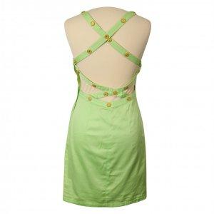 שמלה ירוק מנטה עם כפתורי זהב - קרדשבק קשמד 2