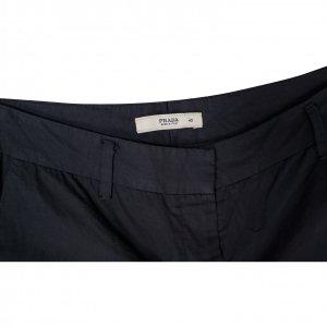 מכנס 3/4 שחור מחויט PRADA 3